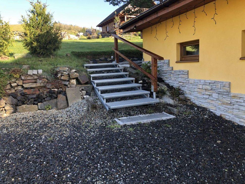 Isometall - zemné vruty - schody