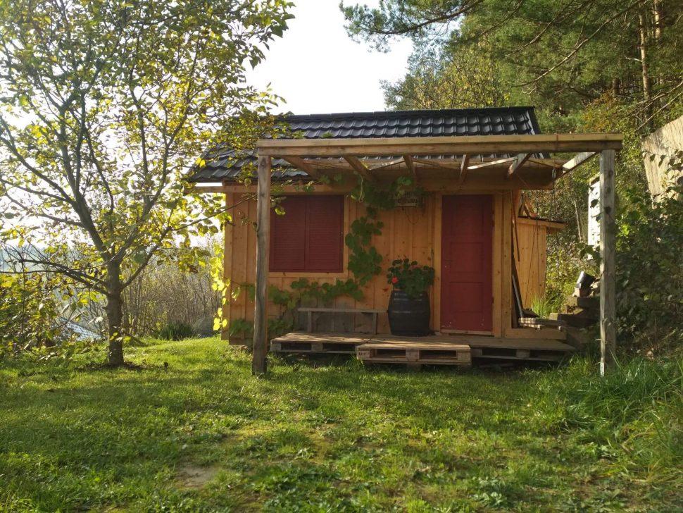 Isometall - zemné vruty - záhradný domček