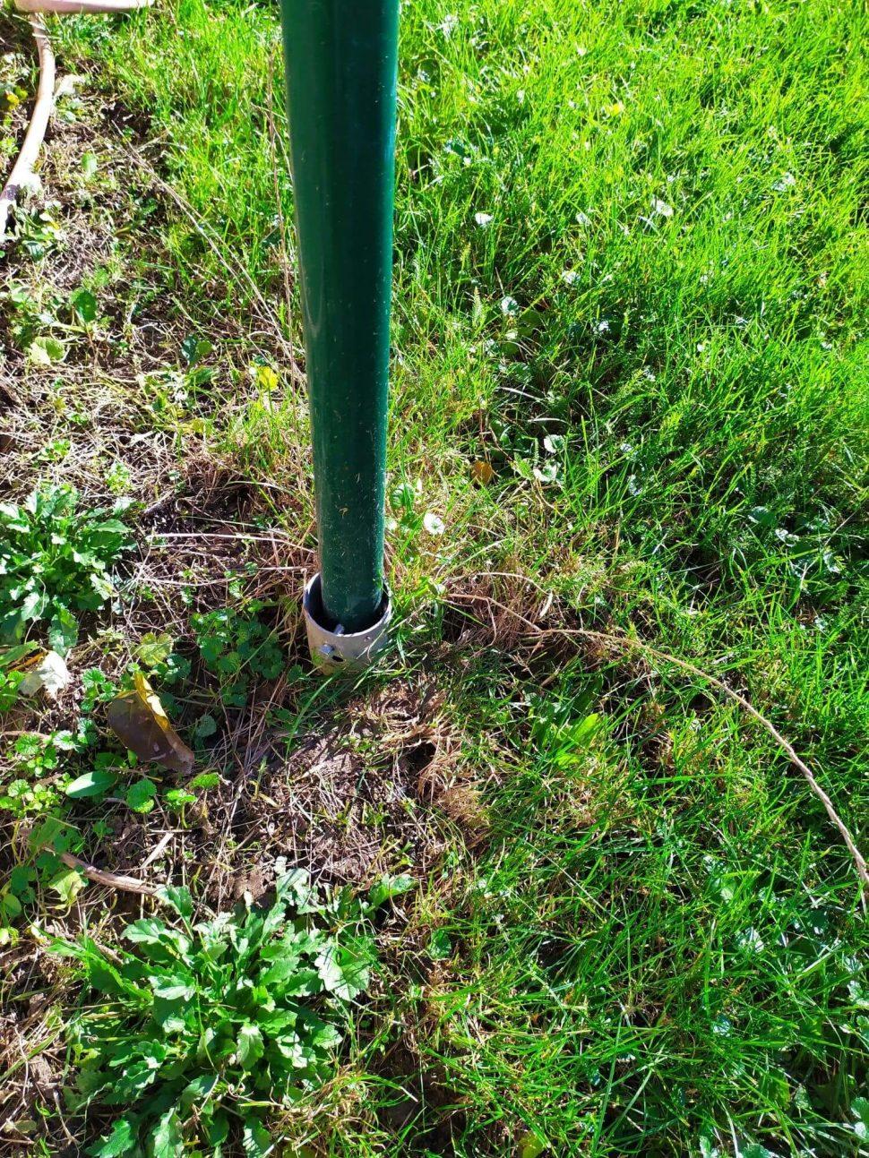 Isometall - zemné vruty - búdka pre vtáky