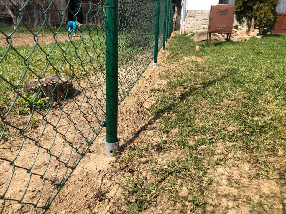 Isometall - zemne vruty plot